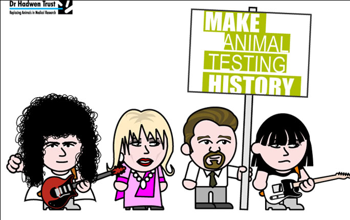Celebrity Avatars: Brian May, Joanna Lumley, Ricky Gervais, Chrissie Hynde
