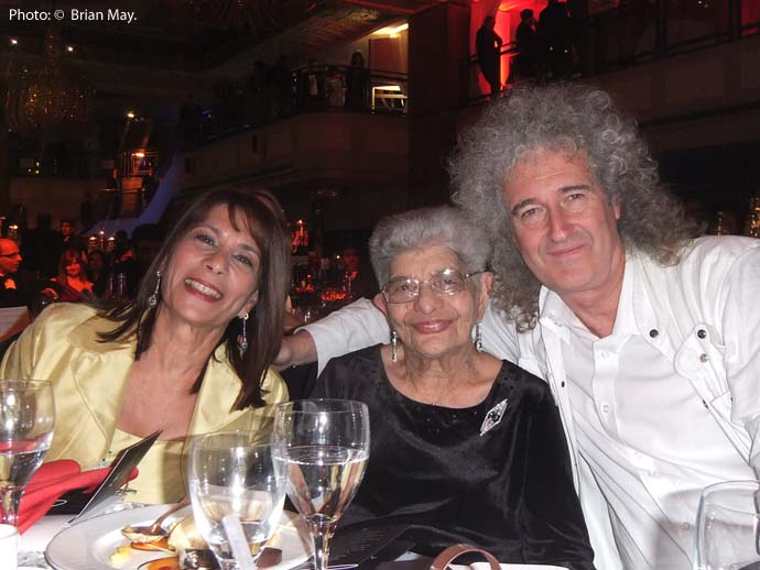 Kash Cooke, Jer Bulsara and Brian May