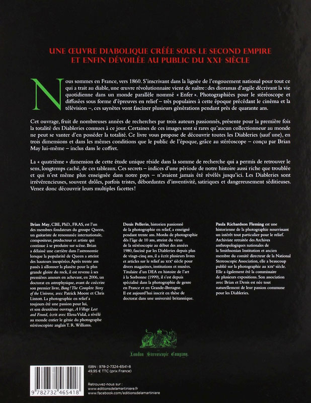 Diableries back cover - French edition