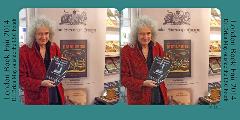 Brian May at London Book Fair