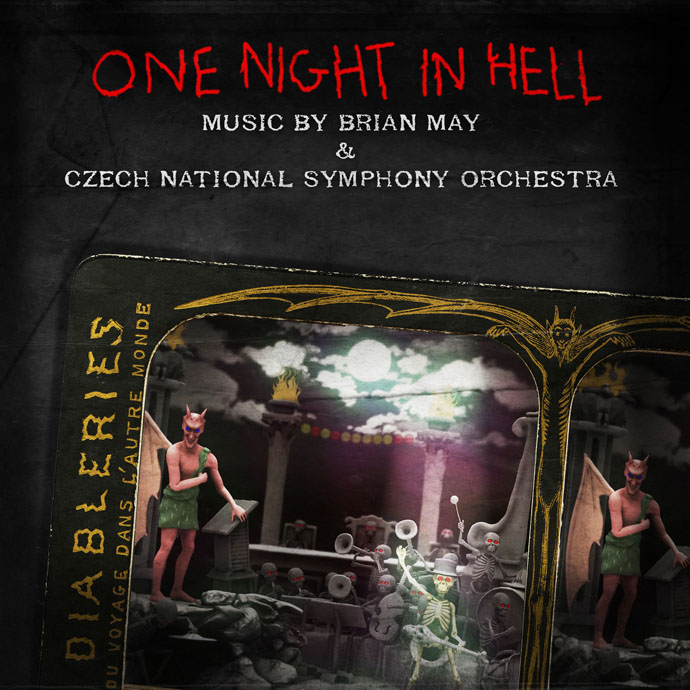 One Night In Hell singel cover art