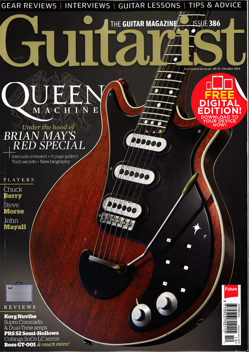 Guitarist Magaizine front cover