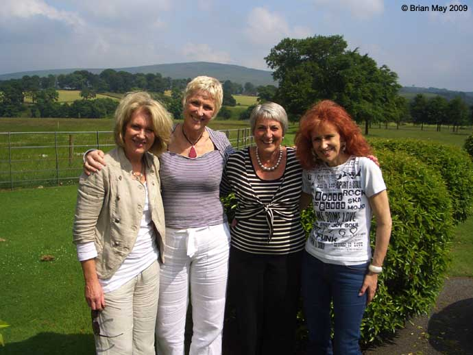 Calandar Girls at Bolton Abbey