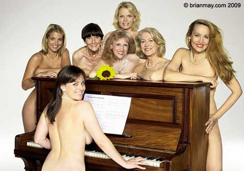 Nude Calendar Girls (L-R) Ms's Gemma Atkinson, Jill Halfpenny, June Brown, ...
