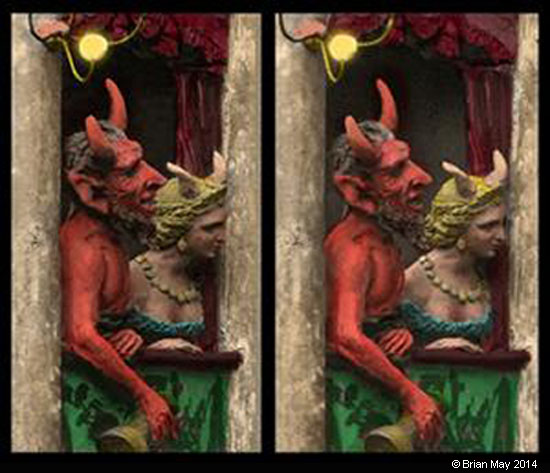 3D diableries couple