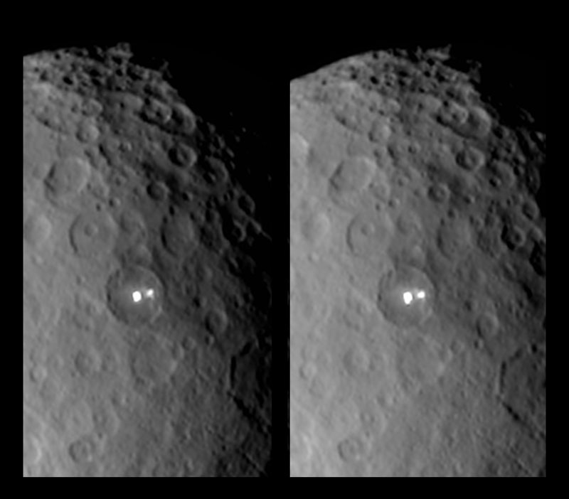 Ceres stereo detail