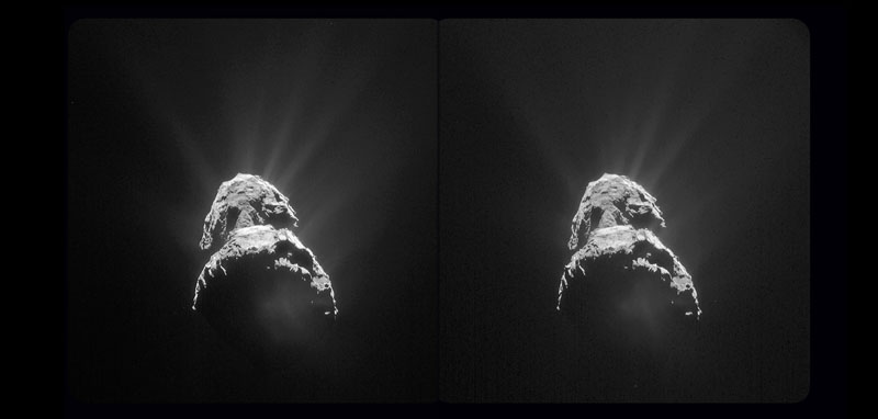Comet 67P stereo