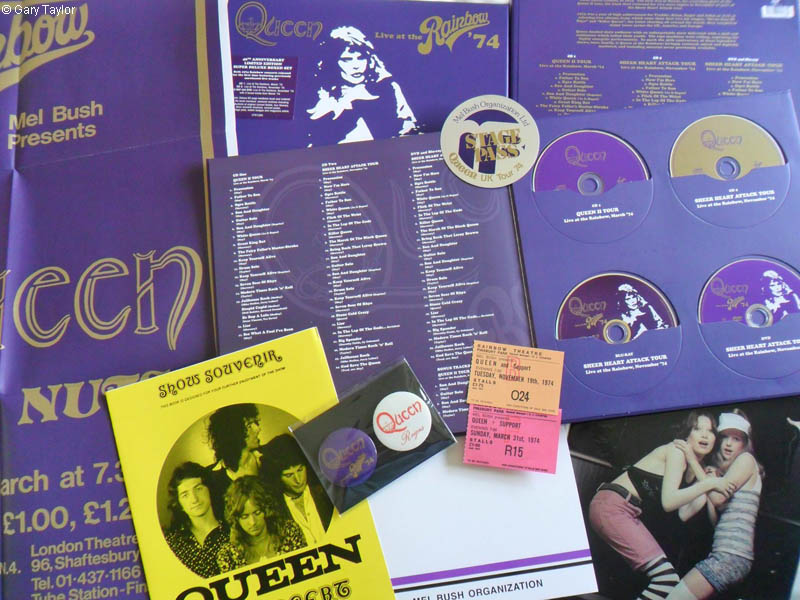 Queen 1974 Rainbow Queen Live at The Rainbow Box